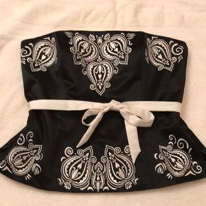 WHBM corset top
